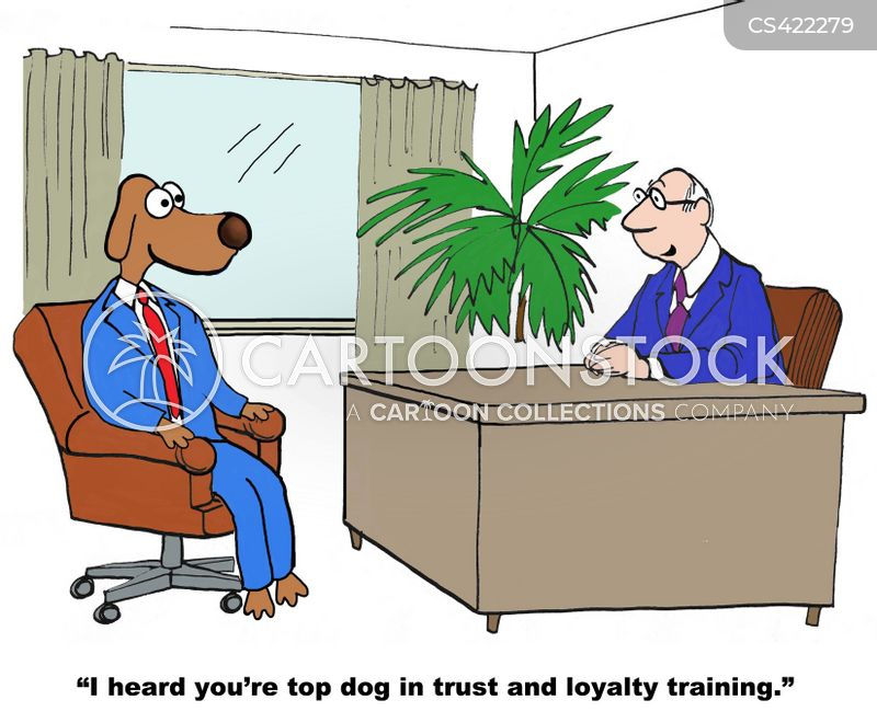 employee loyalty cartoon