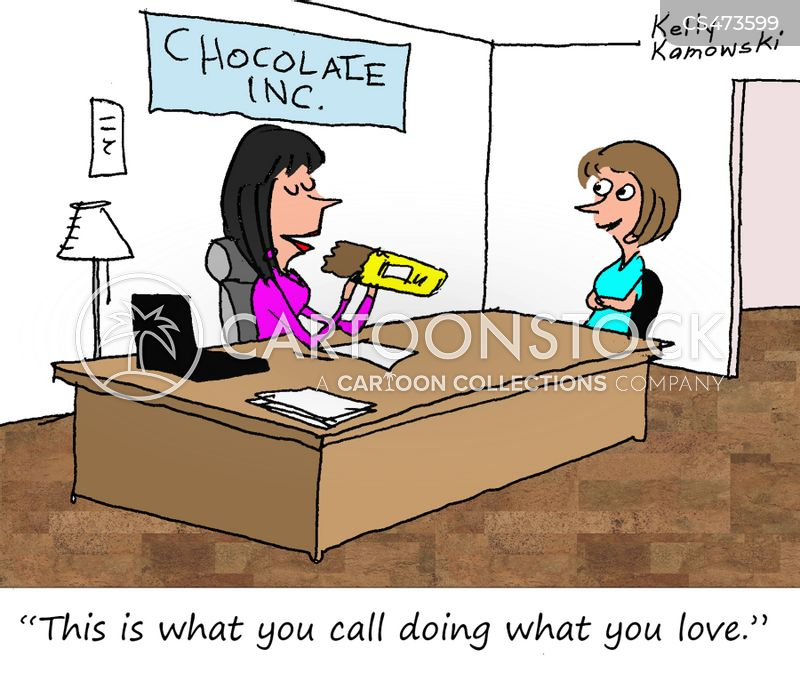 chocolate lovers cartoon