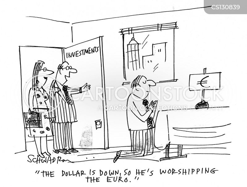 finance market cartoon