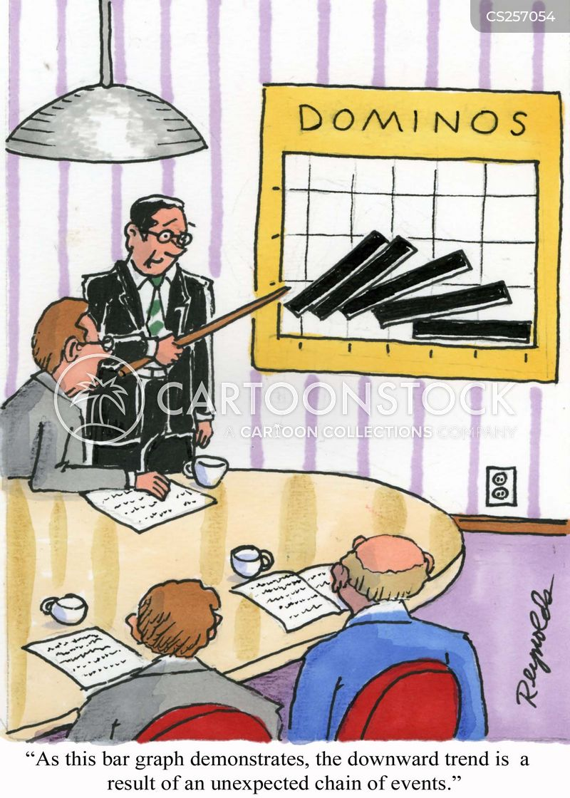 bar graphs cartoon