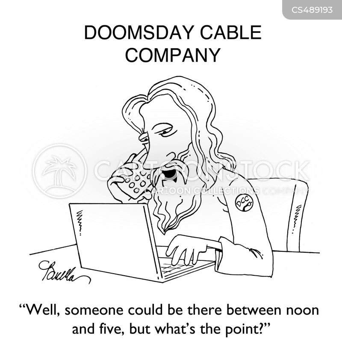 cable company cartoon