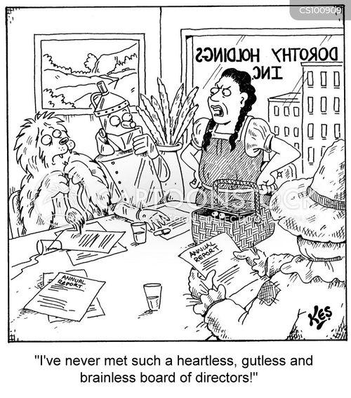 incorporated cartoon