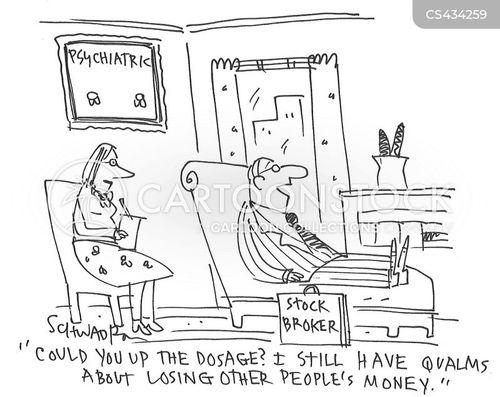 anxiety issues cartoon