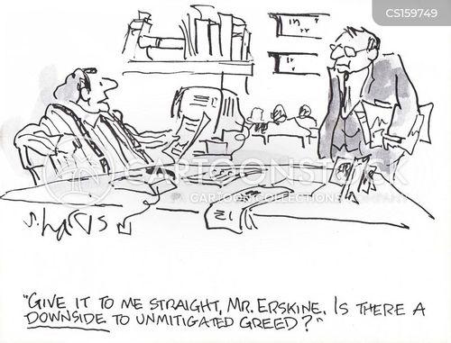 downsides cartoon