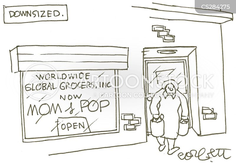 worldwide business cartoon