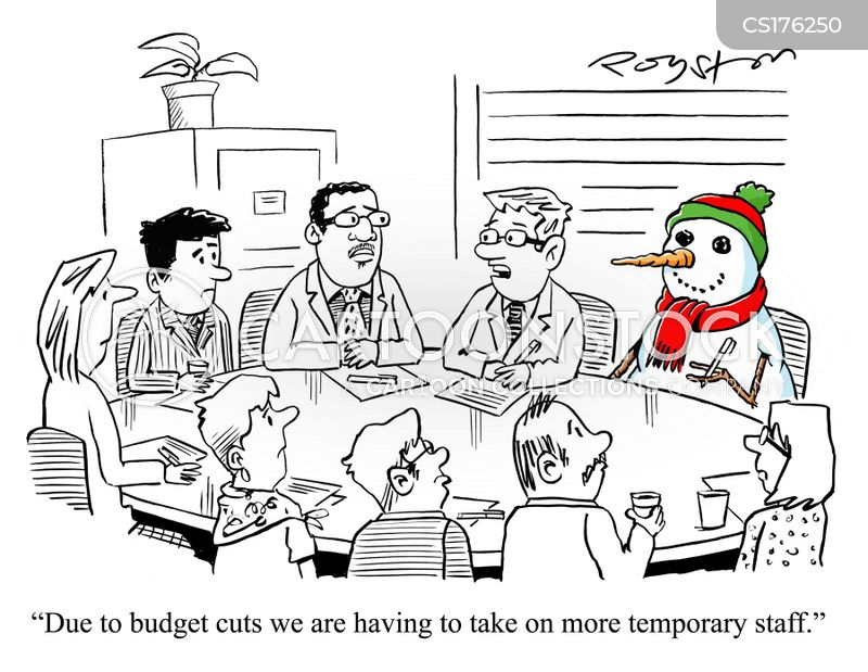 spending cuts cartoon