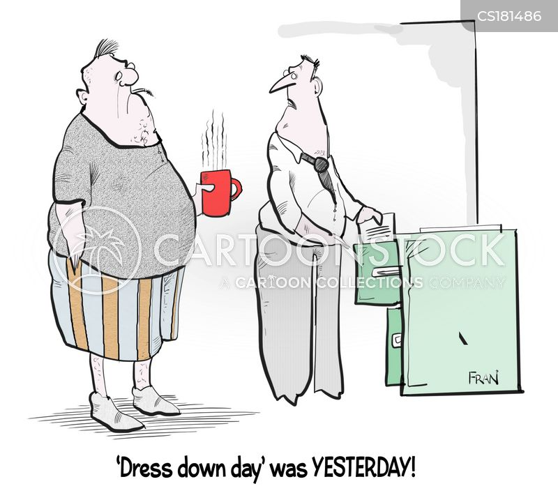 Casual Friday cartoons, Casual Friday cartoon, funny, Casual Friday picture, Casual Friday pictures, Casual Friday image, Casual Friday images, Casual Friday illustration, Casual Friday illustrations