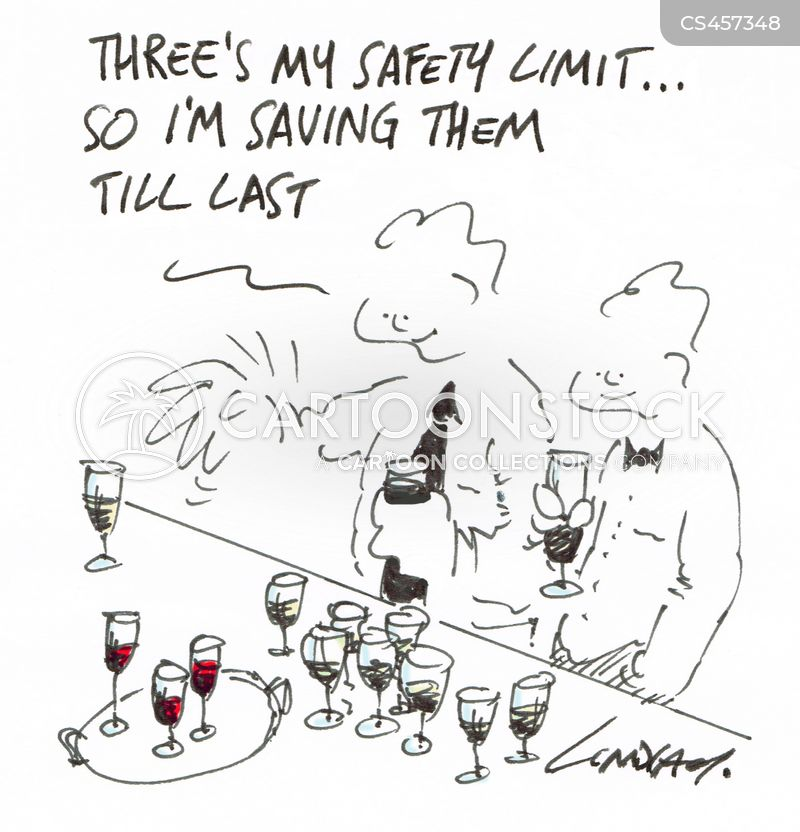 drink problems cartoon
