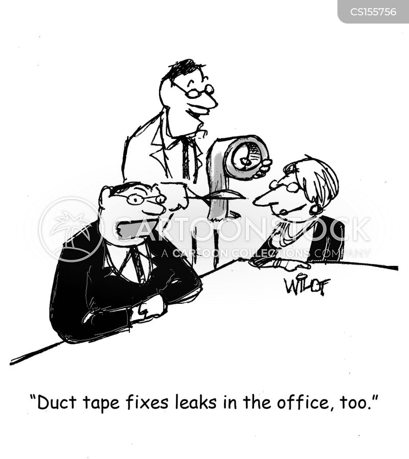 duct tape cartoon
