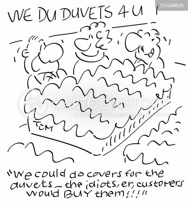 duvets cartoon