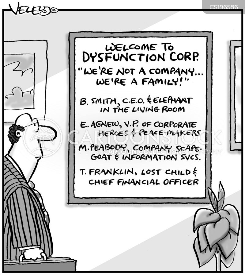 cartoon welcome to dysfunction corp henry kotula