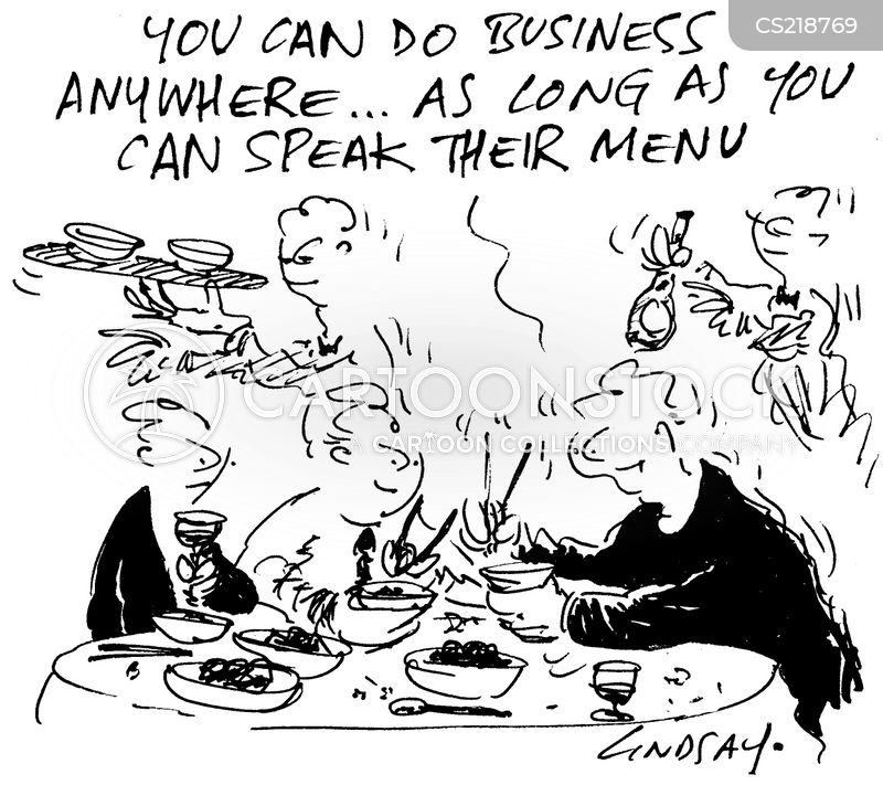 do business cartoon