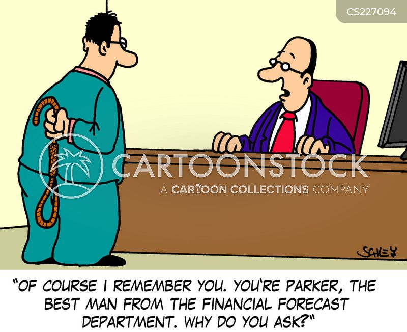 Financial Forecast Cartoons and Comics - funny pictures from
