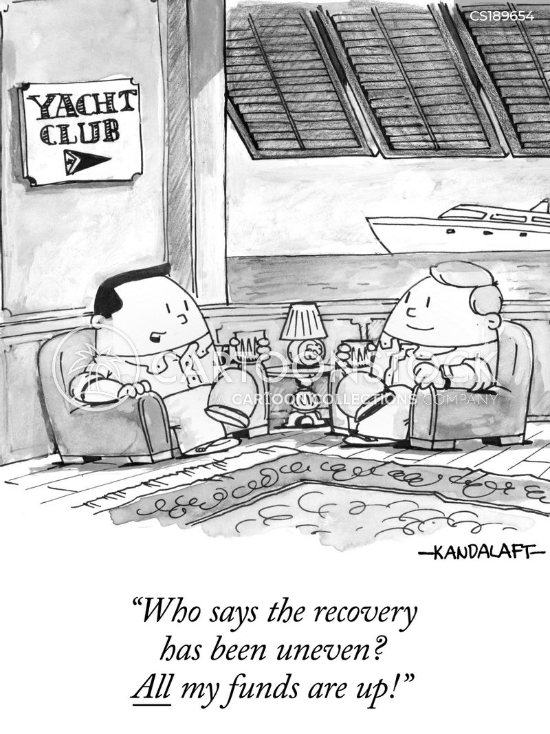 economic recoveries cartoon