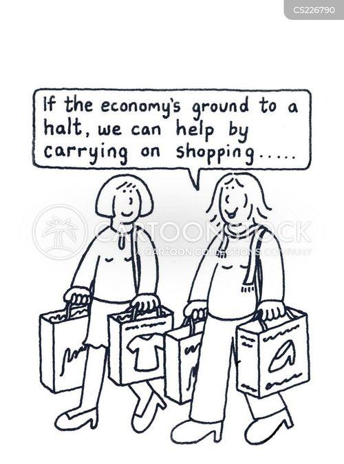 retails cartoon