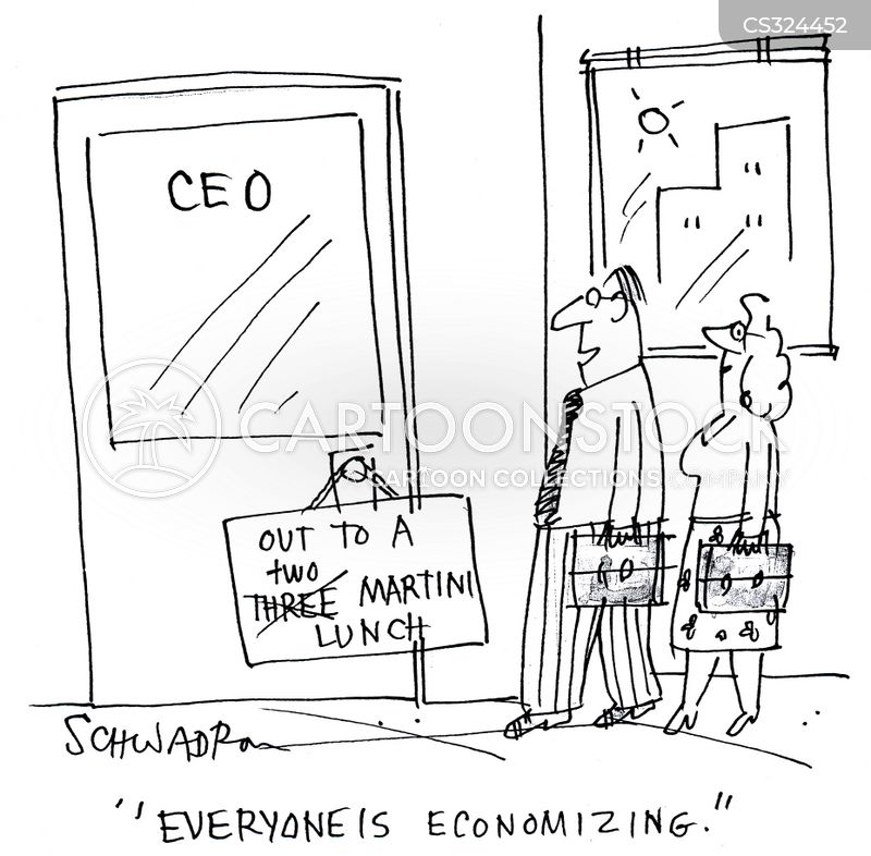 credit crises cartoon