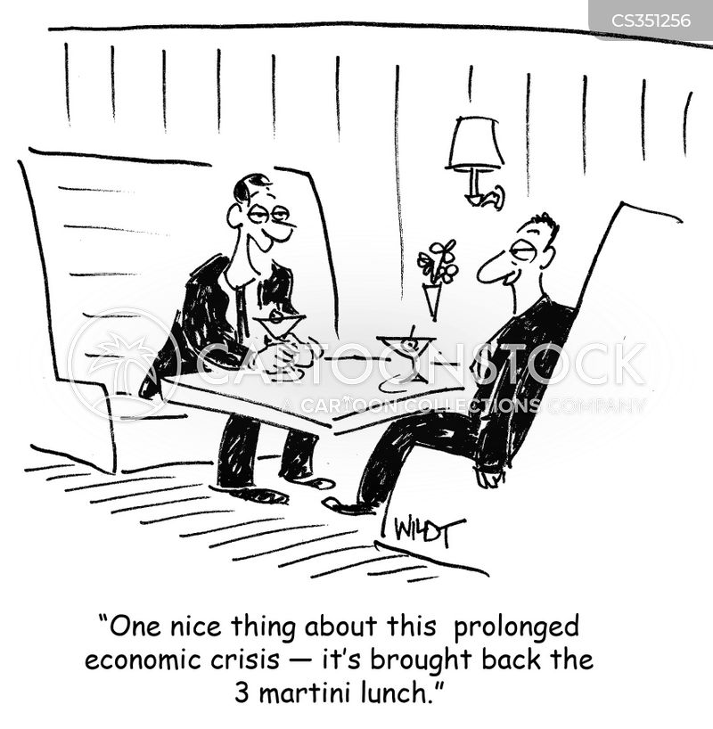 long lunches cartoon