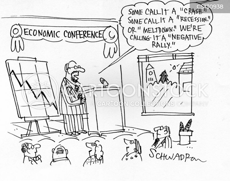 economic conferences cartoon