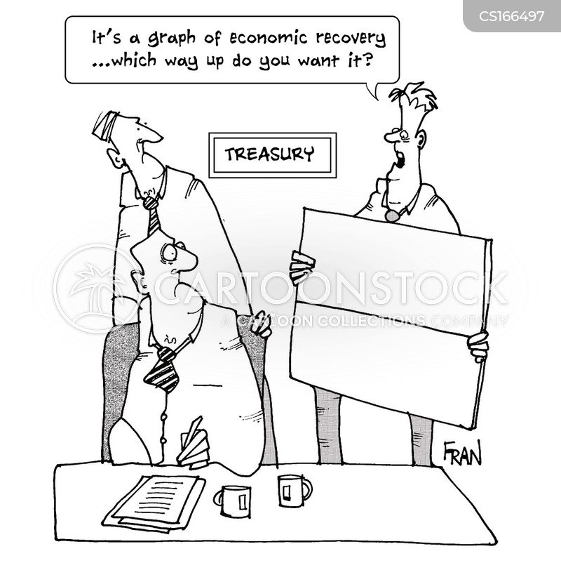 financial recoveries cartoon
