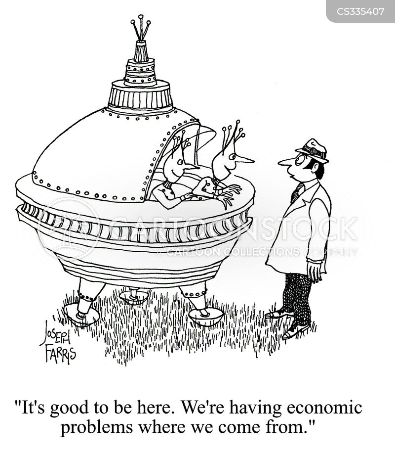 economic problems cartoon