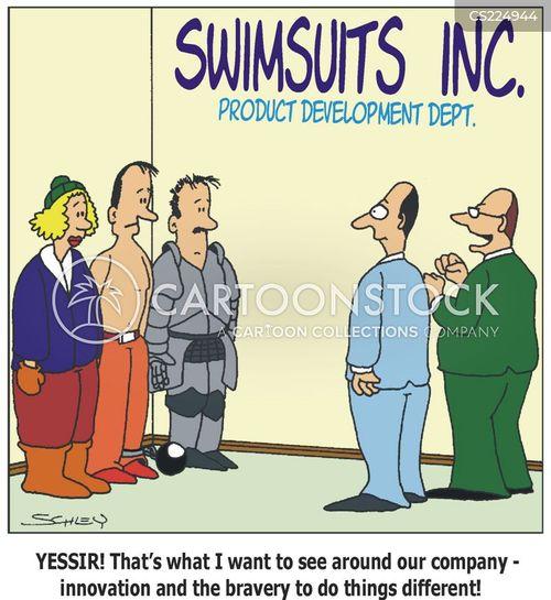 product development cartoon