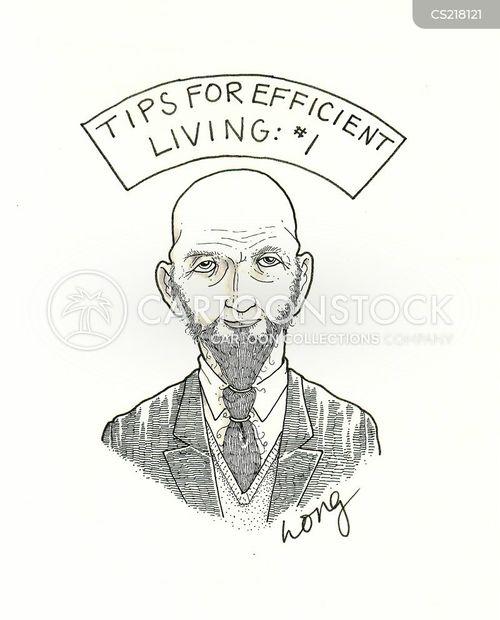 efficiencies cartoon