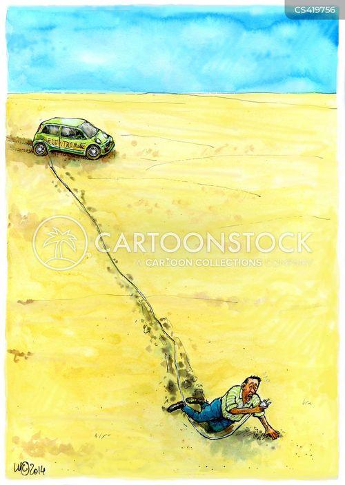 green cars cartoon