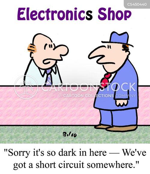 circuit cartoon