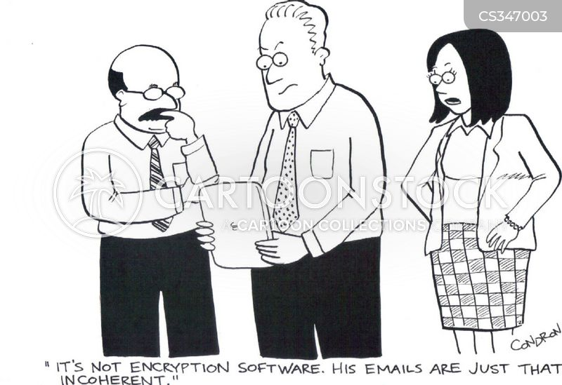 encryptions cartoon