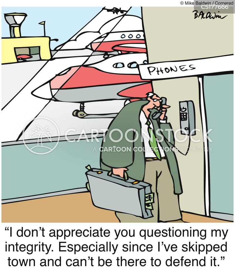 Cartoon – I don't appreciate you questioning my integrity | HENRY ...