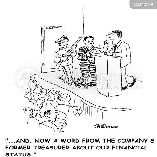 treasurers cartoon