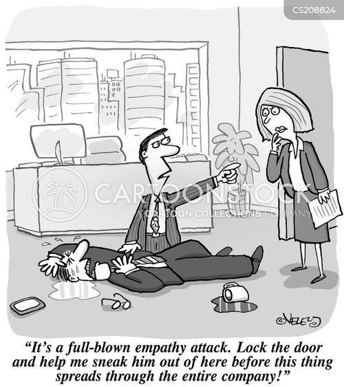 empathizing cartoon