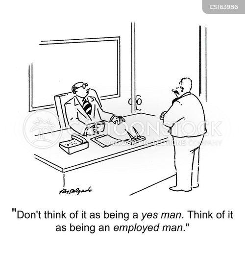 unemployement cartoon