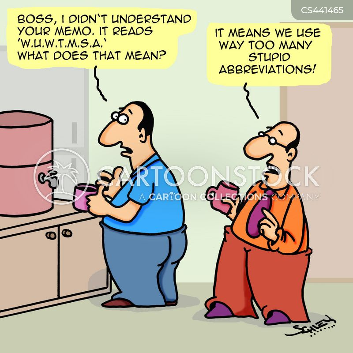 abbreviated cartoon