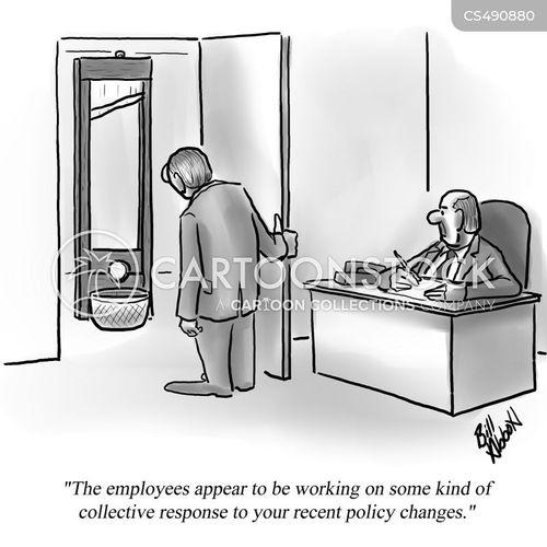 policy change cartoon