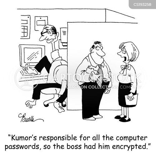encrypted cartoon