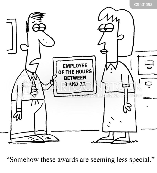 reward systems cartoon