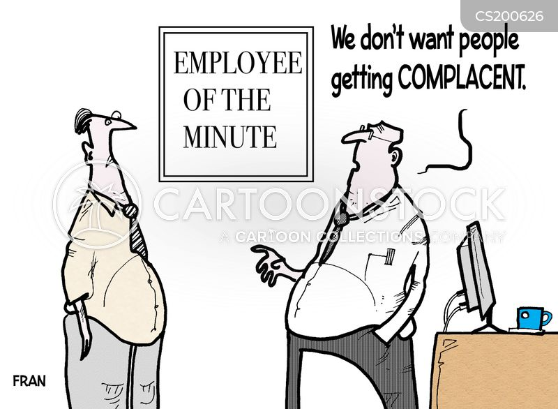 employee of the month cartoon