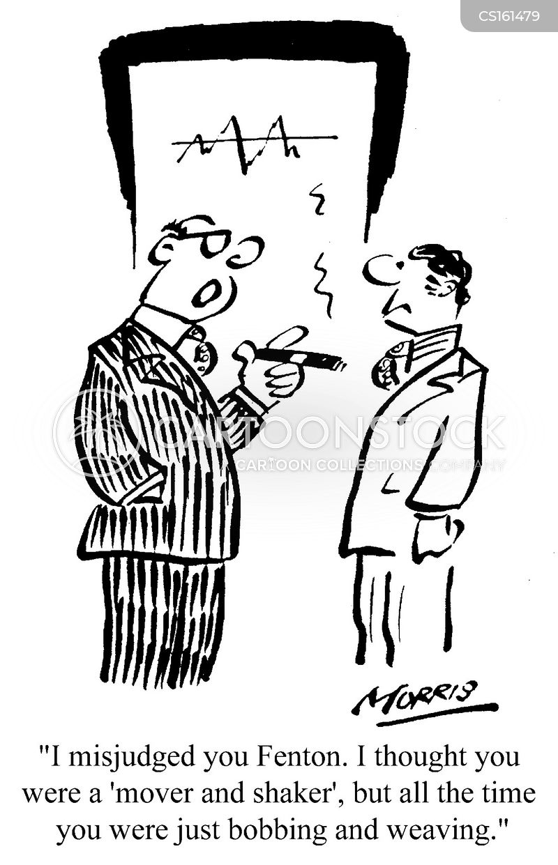 movers and shakers cartoon
