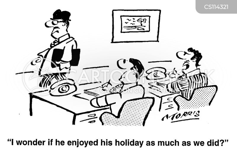 return to work cartoon