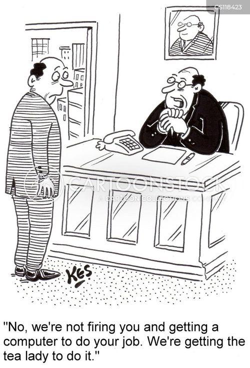 computerization cartoon