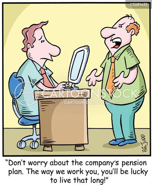 superannuation cartoon