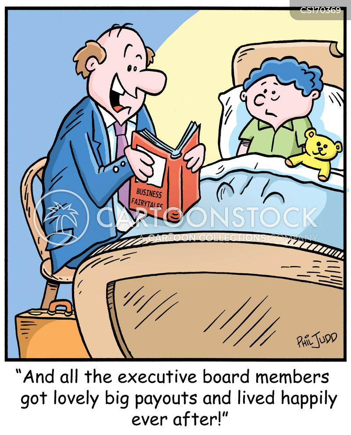 payout cartoon
