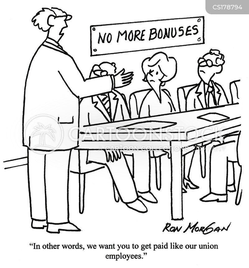 trade unions cartoon