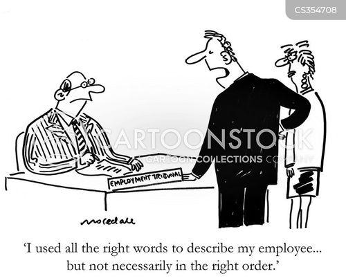 careful wording cartoon
