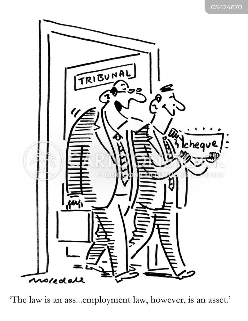 tribunal cartoon
