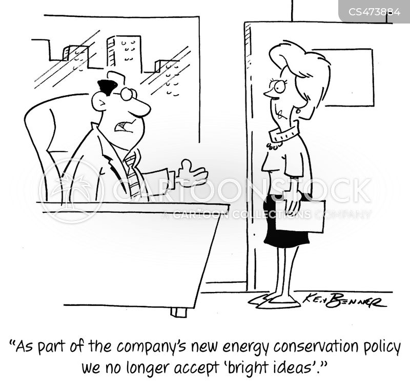 energy policies cartoon