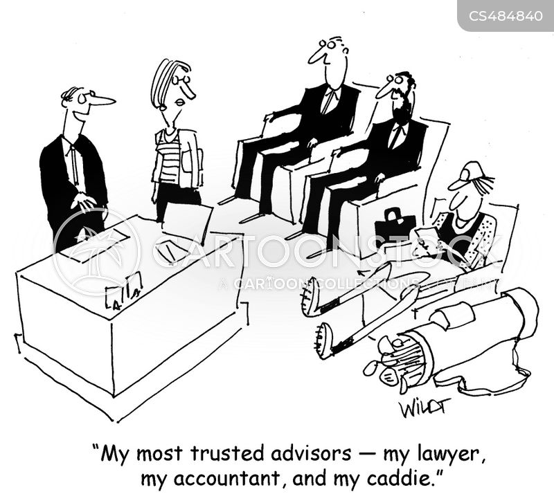 trusted advisor cartoon