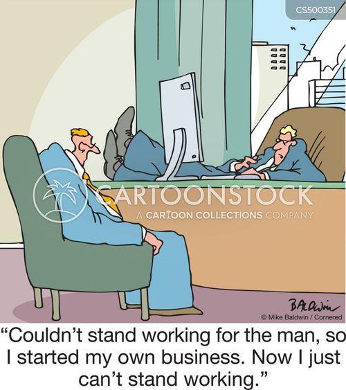 lack of motivation cartoon