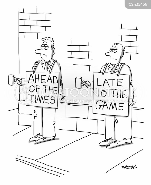 business failure cartoon